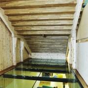 Erøyvik Trevare as - Glassgulv under trapp