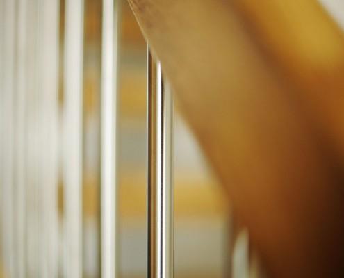 Erøyvik Trevare as - Spiler i børstet stål, 16 mm