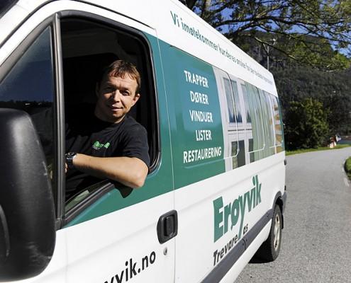 Erøyvik Trevare as - Moderne produksjon, stor nøyaktighet og god kontroll