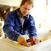 Erøyvik Trevare - montering vindu