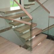 Erøyvik Trevare as - trapper og trappeløsninger - Trapp med trinn uten nese