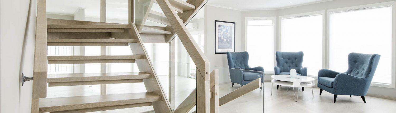 Erøyvik Trevare - Moderne trapper