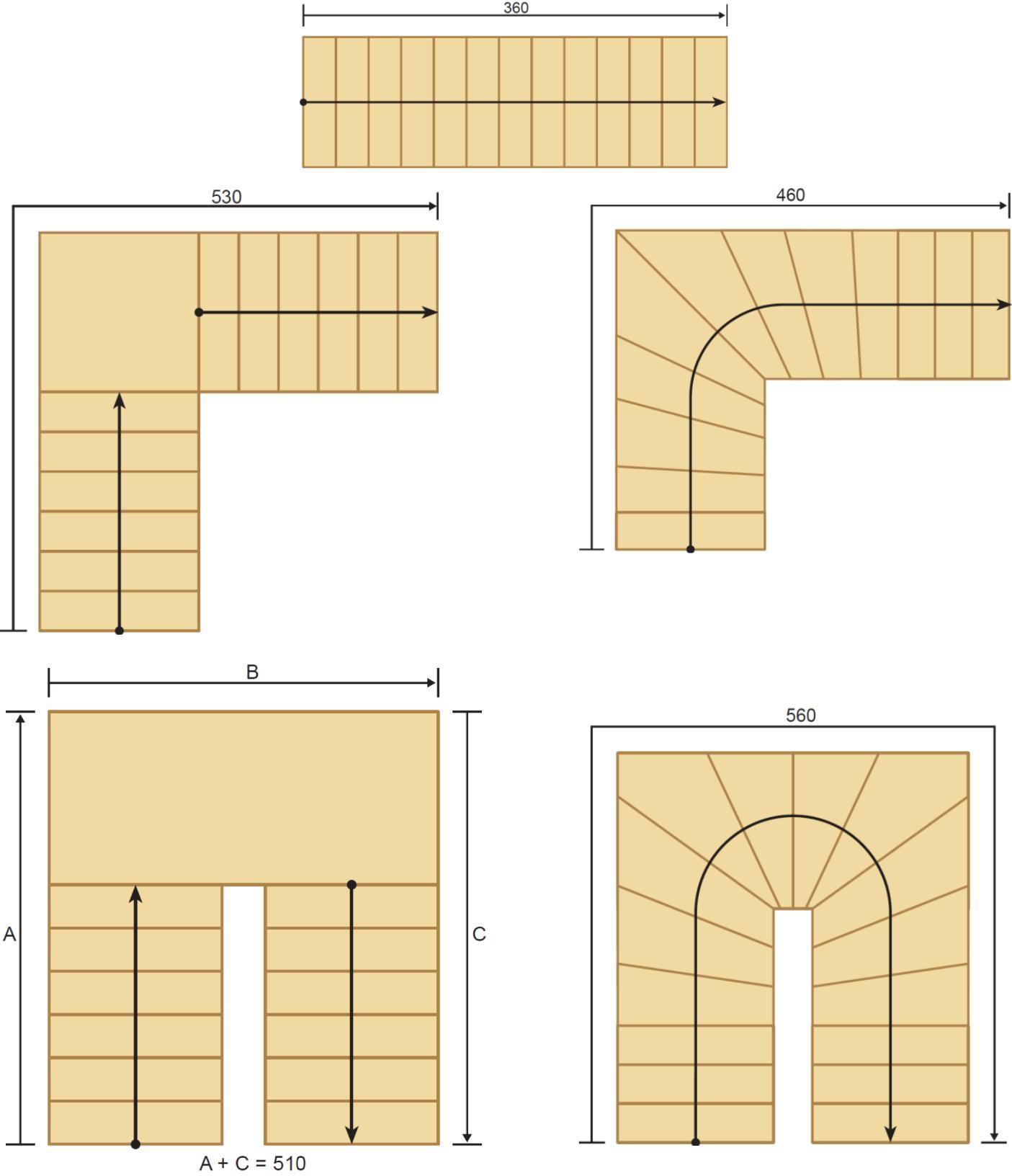 Trappemanual-Erøyvik-trevare- trapper og trappeløsninger-anbefalte trappemål